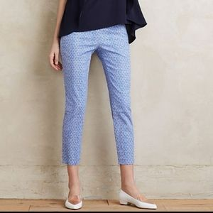 Anthropologie Cartonnier Ocean front Charlie Pants